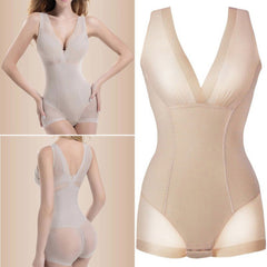Seamless Beige Bodysuit Tummy control UK size 8-12