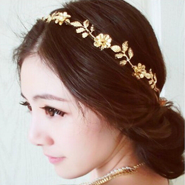 Bridal Floral Wedding Hair Band