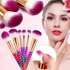 6pcs Set Make Up Brushes