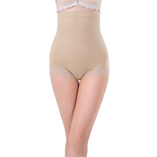 Beige Tummy Control Pants UK 8-12 Firm support