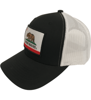 "Cheers Beaches Accessories California Bear Flag ""Cheers Beaches"" Trucker Hat"