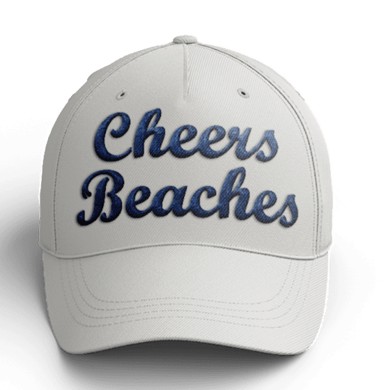 Cheers Beaches Accessories Cheers Beaches Khaki 3-D Embroidered Hat