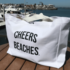 Cheers Beaches Accessories Cheers Beaches Tote Bag