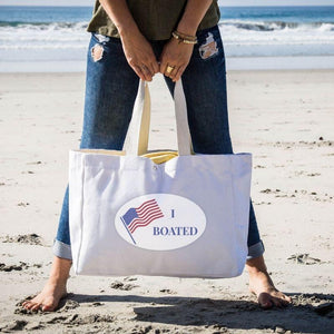 Cheers Beaches Accessories I Boated Tote Bag