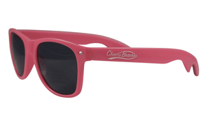 Cheers Beaches Accessories Pink Cheers Beaches Bottle Opener Sunglasses: Black