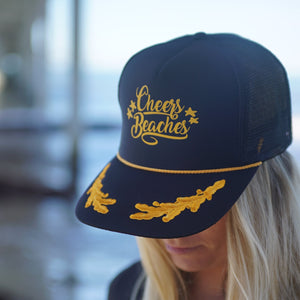 Cheers Beaches Cheers Beaches Captain's Trucker Hat