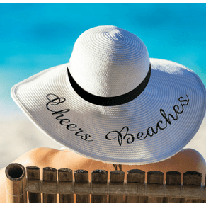 Cheers Beaches Women Cheers Beaches Floppy Sun Hat: Ivory