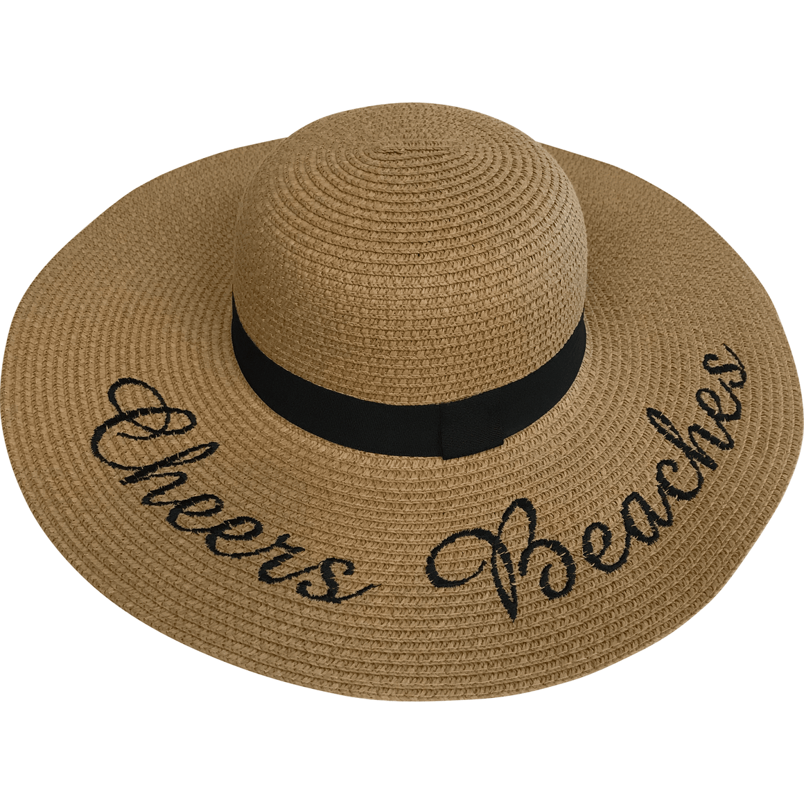 Cheers Beaches Women Cheers Beaches Floppy Sun Hat: Tan