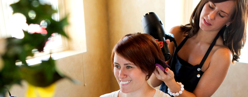 Good hairdressers sell themselves, not hair products