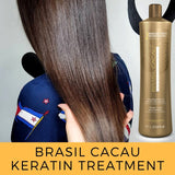Thermal Reconstruction Keratin Treatment Smoothing Blowout Step 2 bottle only Cadiveu Brasil Cacau