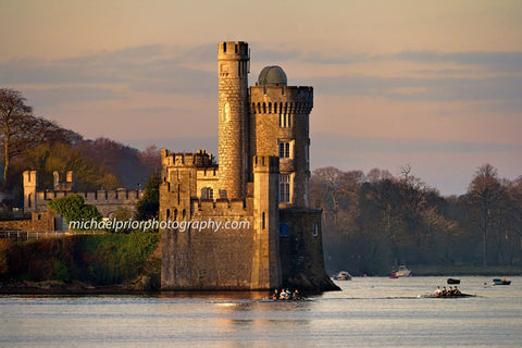 Blackrock Castle On A Winter Sunrise - Michael Prior Photography