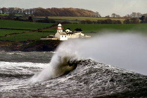 Big Surf In Cork Harbour - Michael Prior Photography