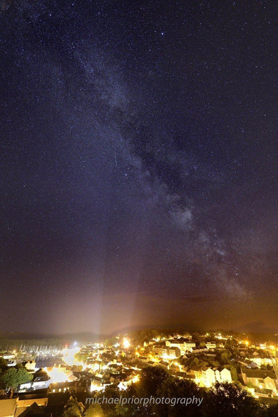The Milkyway Over Kinsale Town & Harbour - Michael Prior Photography