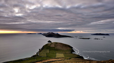 Winter Sunset On Slea Head - Michael Prior Photography