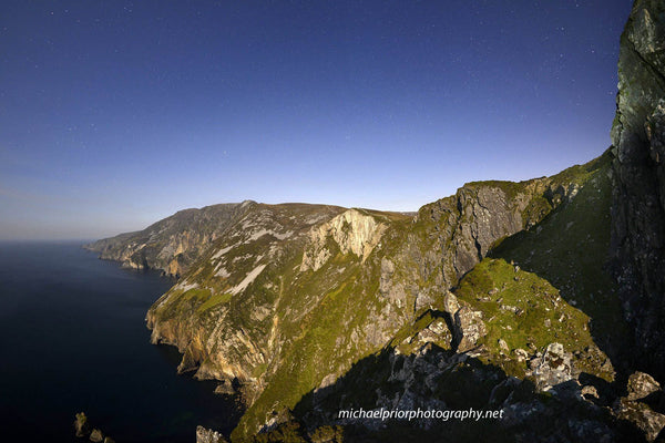 Slieve League At Night