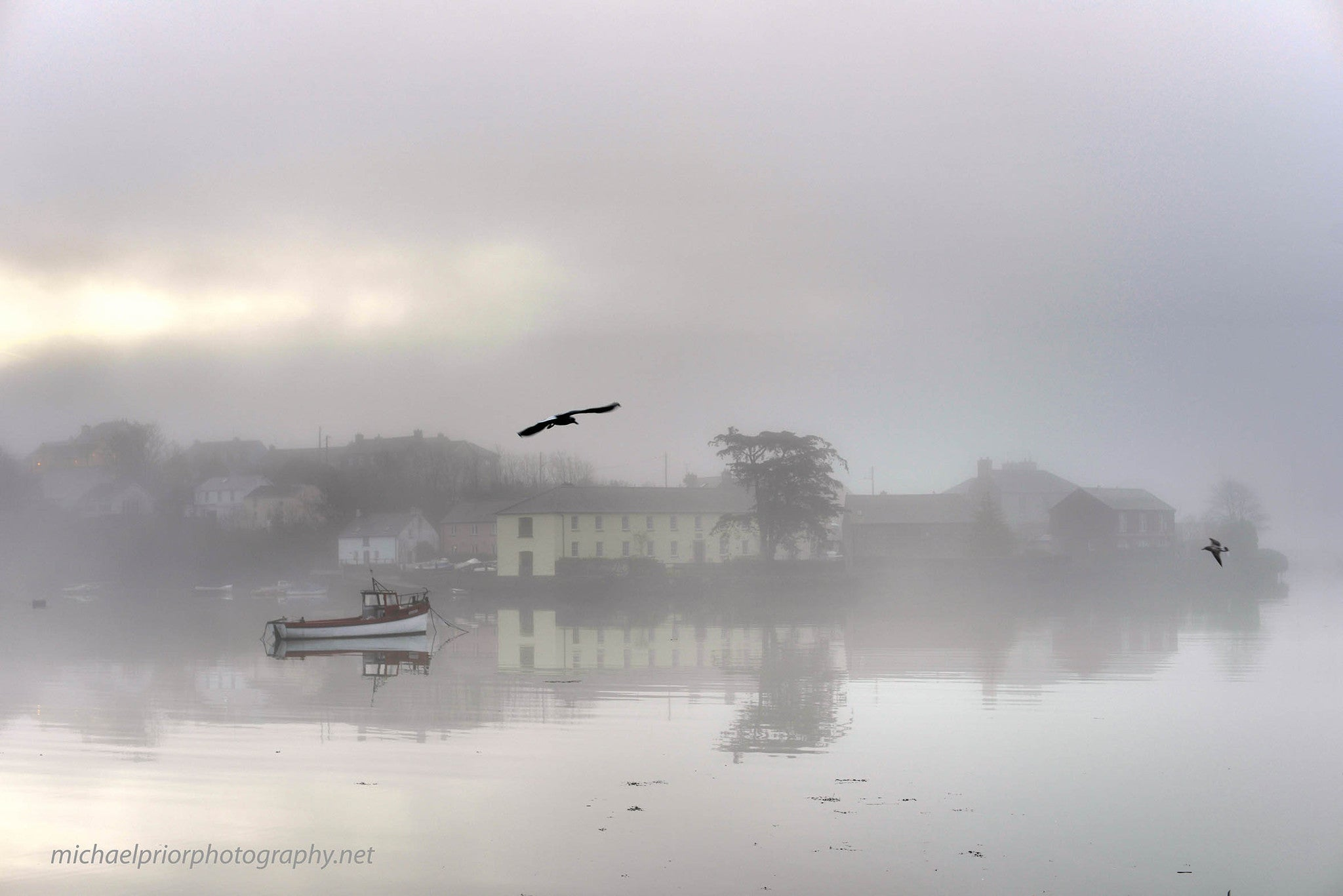 Misty Morning In Kinsale - Michael Prior Photography