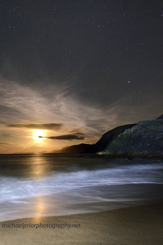 Coumeenole At Moonset - Michael Prior Photography