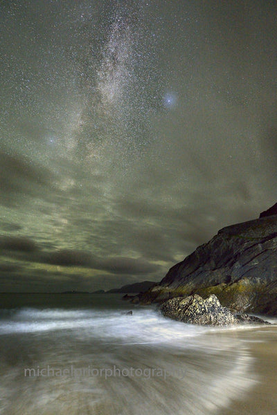Coumeenole Under The Milkyway - Michael Prior Photography