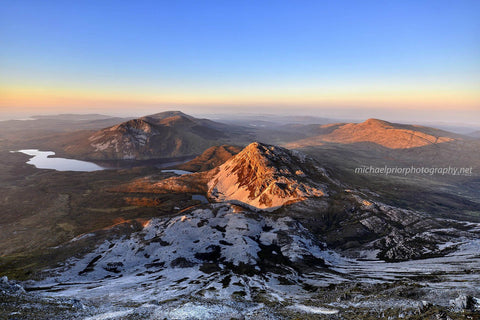 Sunset From Mount Errigal - Michael Prior Photography