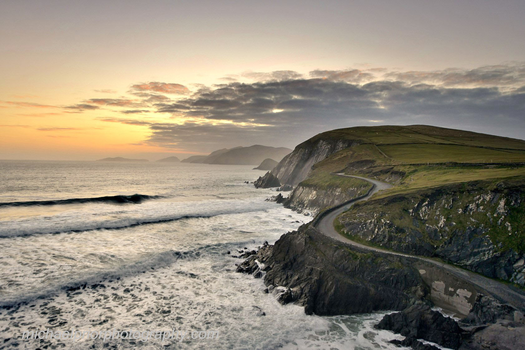 Sunset At Coumeenole - Michael Prior Photography