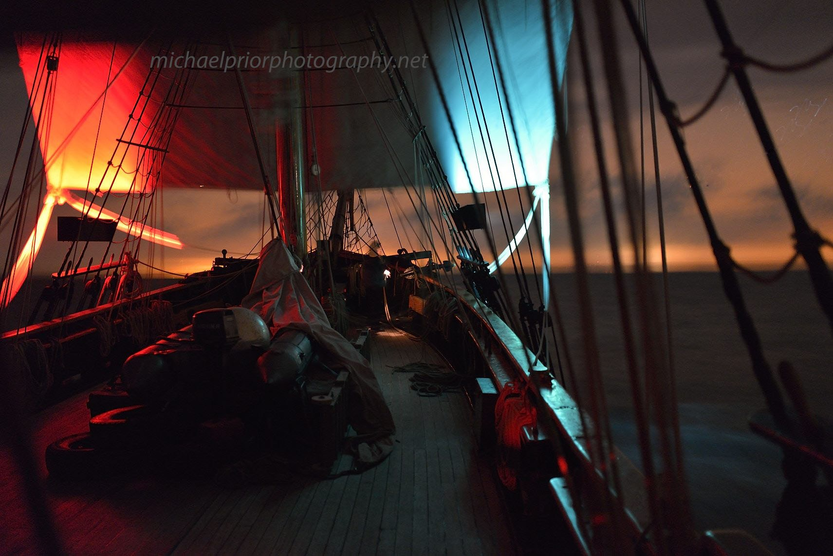 Sailing The Graveyard Shift - Michael Prior Photography