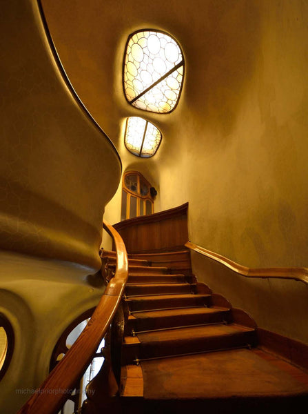 The Winding Stair - Casa Museu Gaudi - Michael Prior Photography