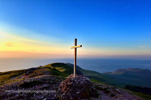 Summer Sunset At The Top Of Mt Brandon - Michael Prior Photography