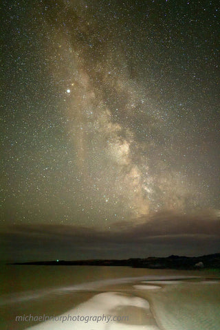 Garretstown At Low Tide With The Milkyway on a Beautiful Clear Summer Night