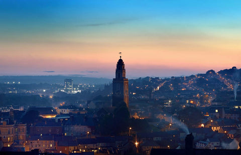 Cork City At Sunset - Michael Prior Photography