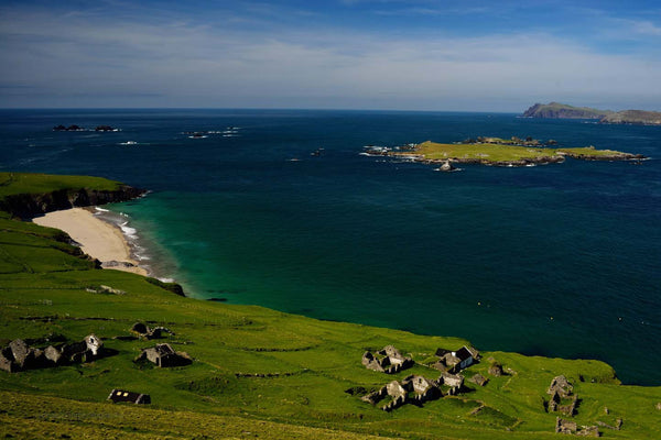 Abandoned Village On The Great Blasket Island - Michael Prior Photography