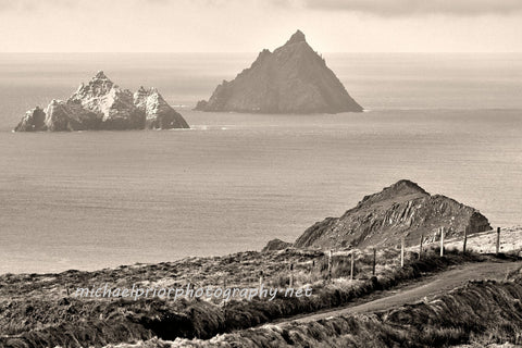 Country Road And The Skellig Islands