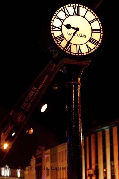 Mangans Clock Cork - Michael Prior Photography