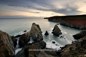 Nohoval cove in moonlight - Michael Prior Photography