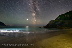 Coumeenole Beach And The Milkyway In Sleahead Co Kerry Ireland