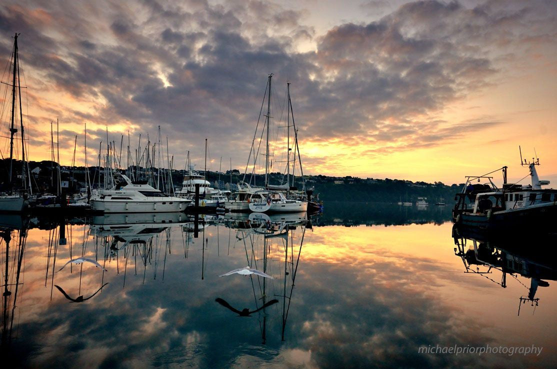 Kinsale Marina Sunrise - Michael Prior Photography