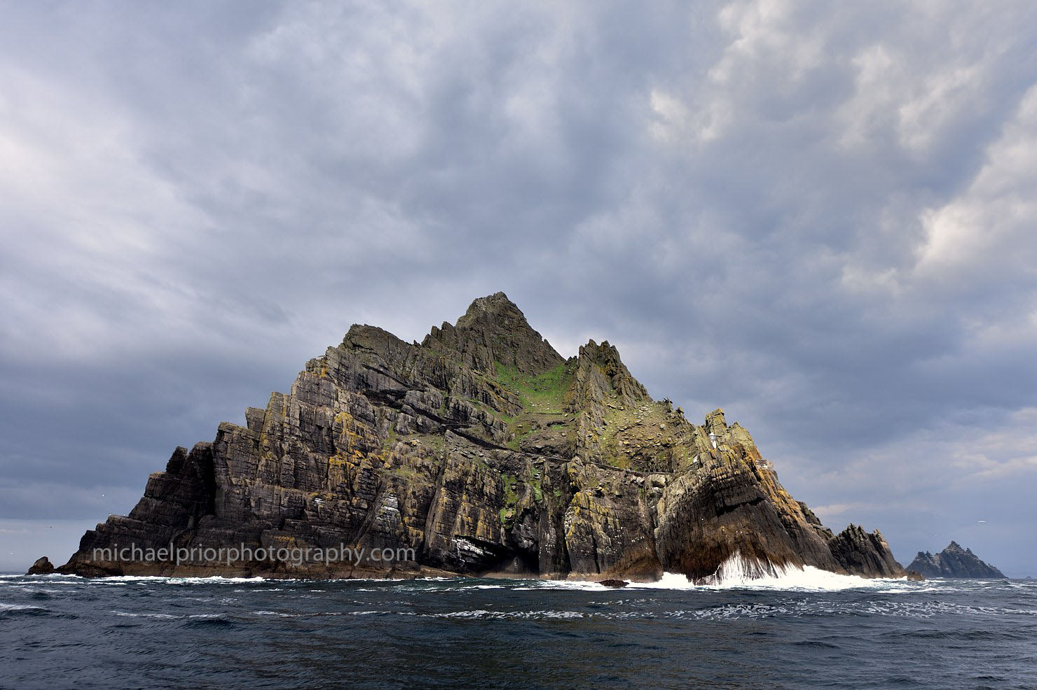 Skellig Michael With The Little Skellig in the Background - Michael Prior Photography