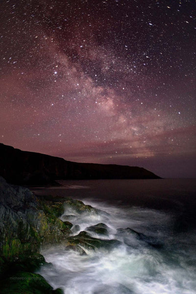 The Old Head Beneath The Milkyway - Michael Prior Photography