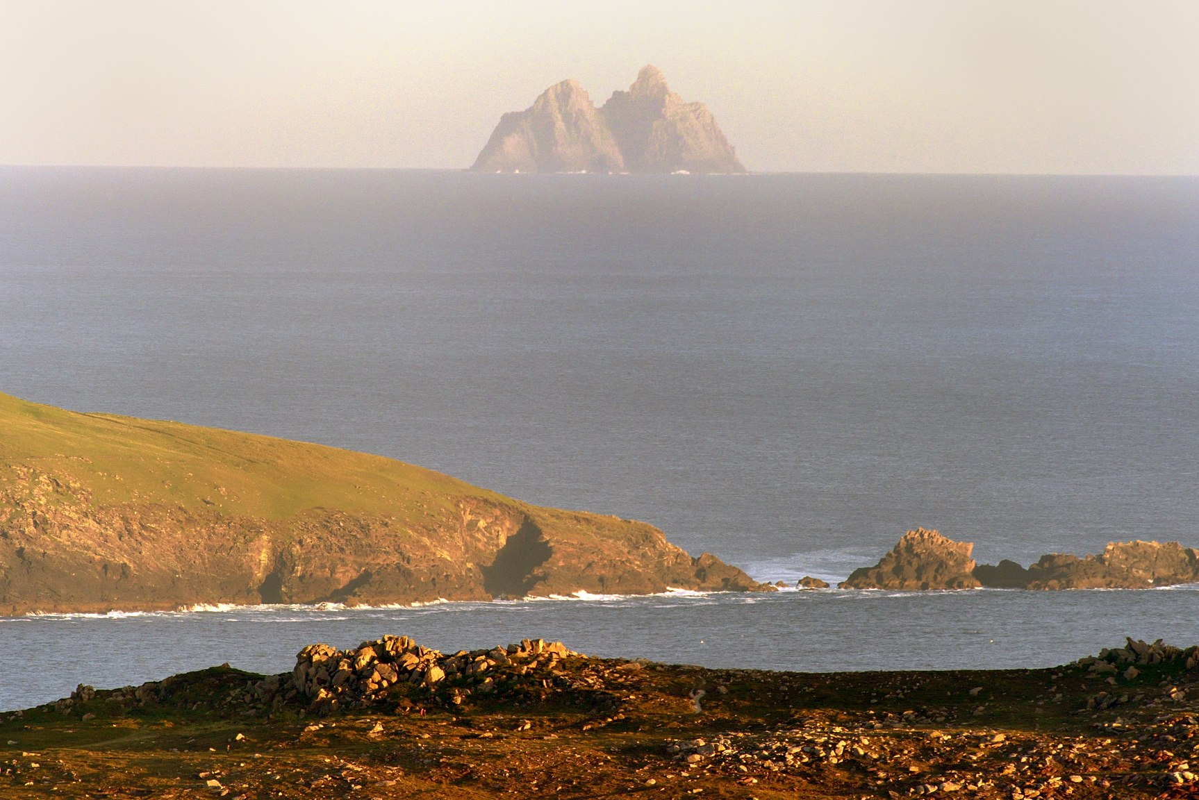 Skellig Michael From Sybil Head