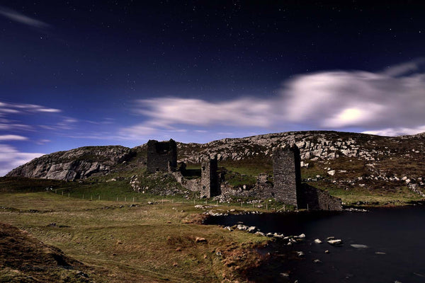 Three Castle Head Under Moonlight - Michael Prior Photography