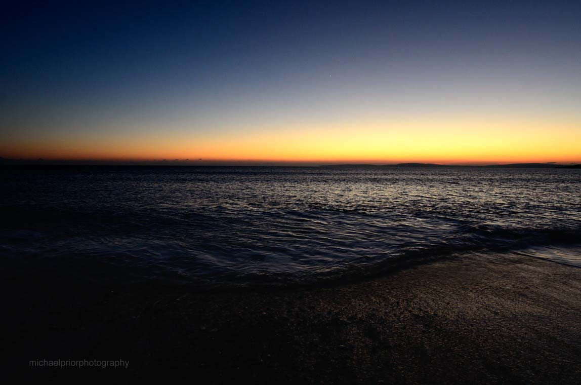 Shoreline At Sundown - Garrylucas - Michael Prior Photography