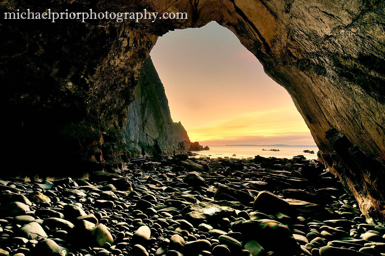 Sunset From Underneath The Oldhead Of Kinsale
