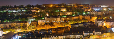 Cork City, Montenotte at night - Michael Prior Photography