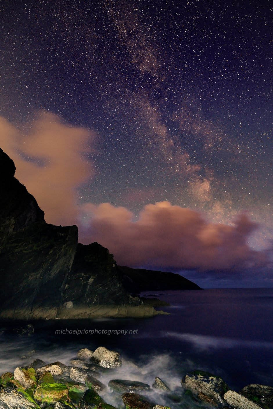 Old Head Cliffs By Starlight - Michael Prior Photography