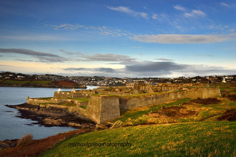 Charles Fort At The Mouth Of Kinsale Harbour - Michael Prior Photography
