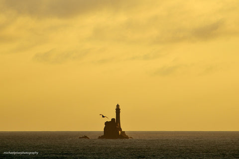 Fastnet At Sundown - Michael Prior Photography