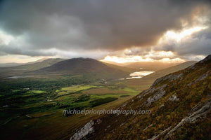 Sunrise From Diamond Hill With Mayo In The Background - Michael Prior Photography