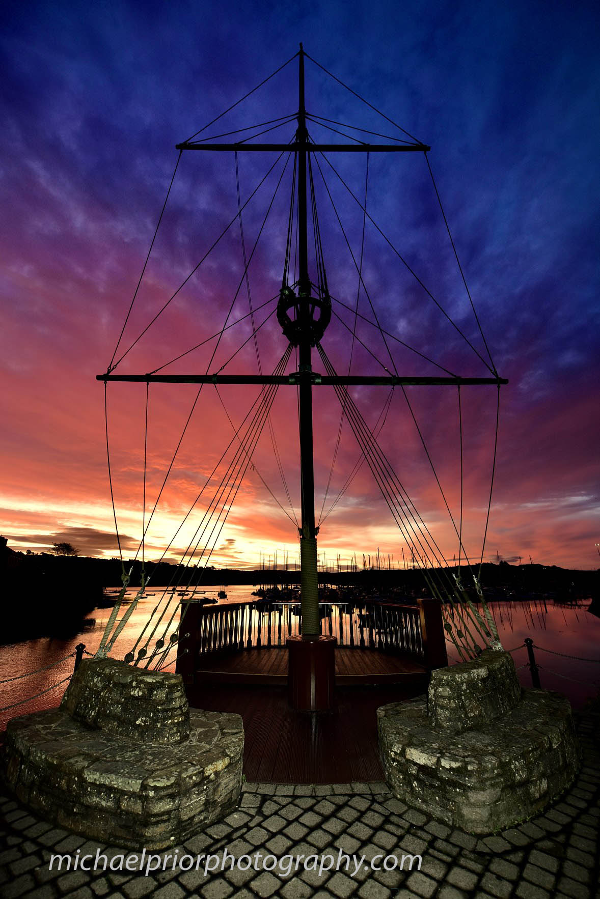 Autumn Sunrise At Kinsale Harbour - Michael Prior Photography