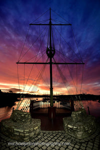 The Sunrise At Kinsale Marina - Michael Prior Photography
