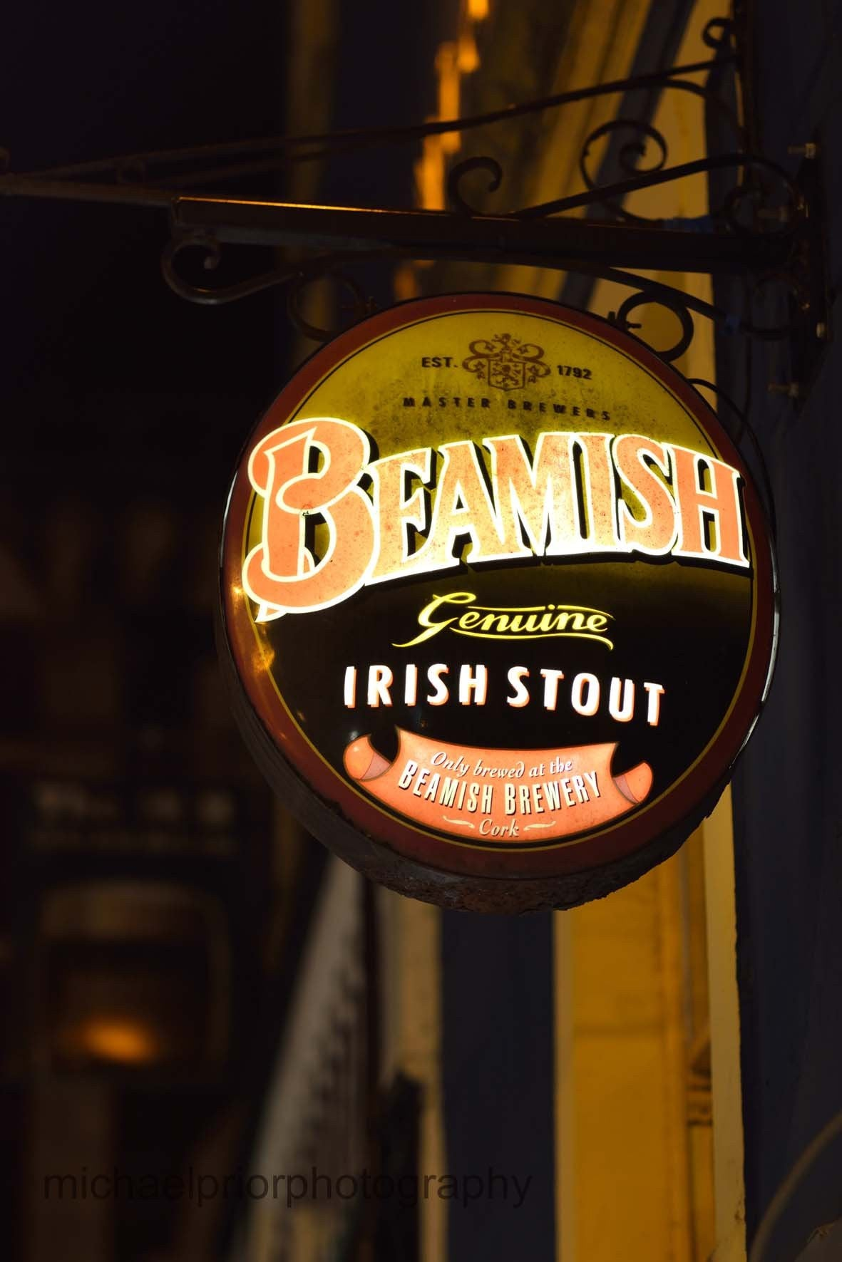 Beamish Irish Stout - Michael Prior Photography