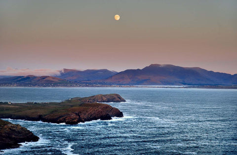 Moon Over Waterville - Michael Prior Photography